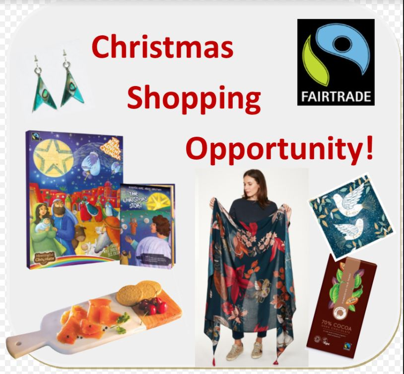 Fairtrade Christmas Shopping opportunity - 24 October