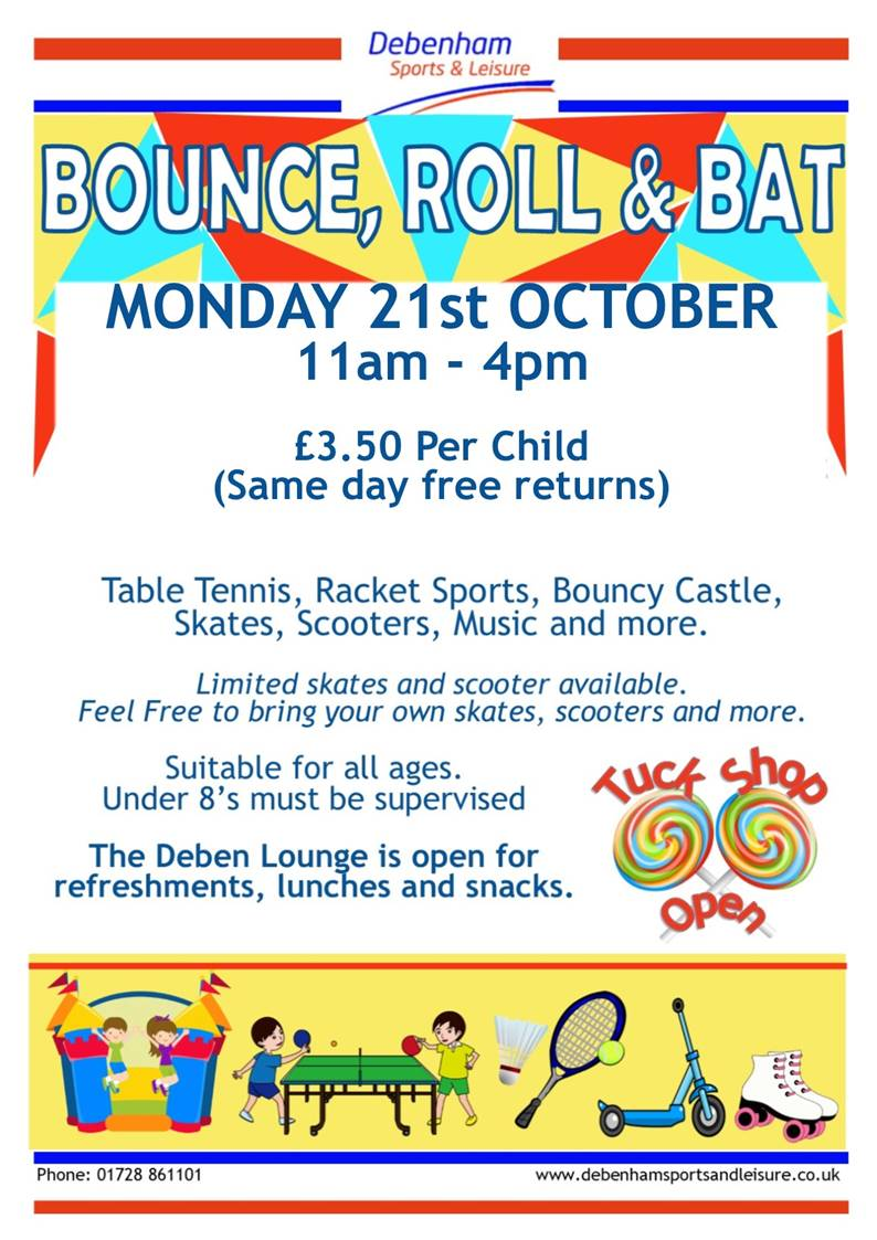 Bounce, Roll & Bat, 21 October